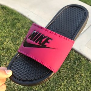NIKE BENASSI PRINT Women's Sandals slides size 7